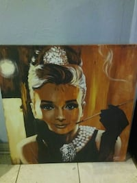 Audrey Hepburn canvas Houston, 77088