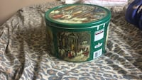 Kirkland cookie tin (big)