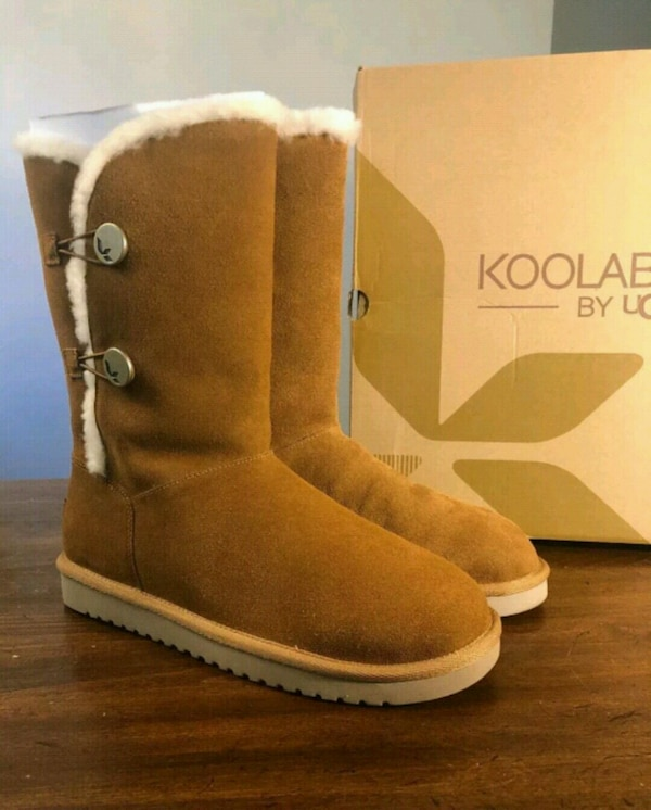 cb7d5b04e70 Koolaburra by UGG boots sz 8 Authentic New in box.