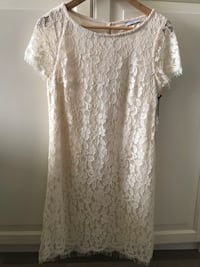 Off white lace dress Vaughan, L6A