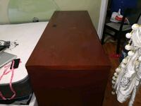Book table and cupboard. Burnaby, V3N 1R3