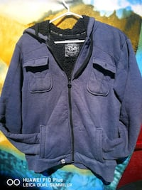 black and gray zip-up jacket Selkirk, R1A 1C6