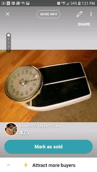 Health-O-Meter scale