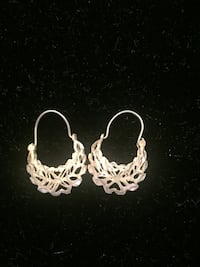 Sterling silver small basket earrings price firm Toronto, M2R 3N1