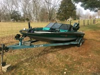 green and black spirit 18ft boat Winchester, 40391