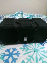 black and gray Altec portable speaker Las Vegas, 89148