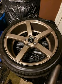 JNC BRONZE RIMS