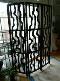Abstract Partition/ Separating Screen.