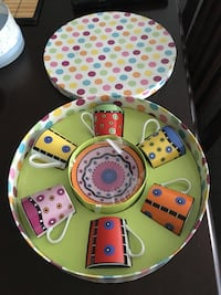 Decorated tea set prefect gift for mothers day Richmond