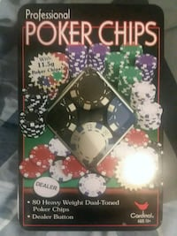 Poker Chips Raleigh, 27615