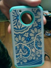 white and blue floral iPhone case Jacksonville, 32207