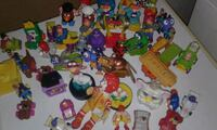 assorted plastic toy collection with box Hamilton, L8N 2V9