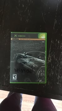Need for speed most wanted black edition original Xbox Kamloops, V2B 1L6