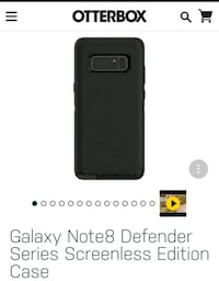 Otter box note8 defender case Brooklyn, 11225