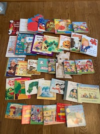 assorted color book lot in box Frederick, 21702
