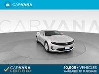 2019 Chevy *Chevrolet* *Camaro* LS Coupe 2D coupe Silver Fort Myers