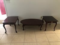 Coffee and 2 end tables  Orlando