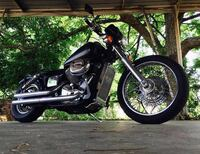 2003 Honda Shadow 750 with tons of extras