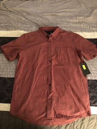 Hurley Short Sleeve Button Down (Size Large) Reno, 89521