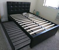 Full twin trundle bed frame brand new free deliver Hollywood, 33023