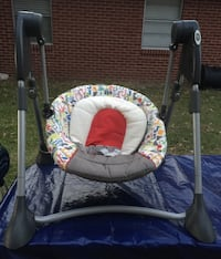 Evenflo carrier/car seat, baby swing, bathtub