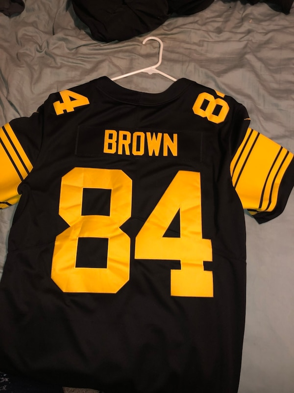 100% authentic bf1e4 95cb8 Color Rush #84 Antonio Brown Jersey