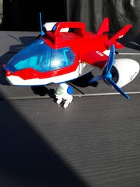 Paw Patrol Airplane with Robodog. sounds/lights Clarkston