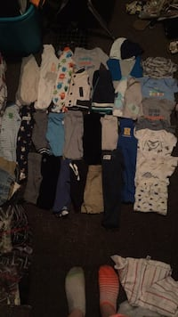 Newborn boy clothes never worn or only worn once Akron, 44314