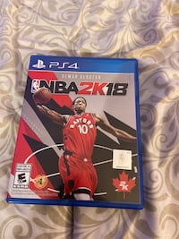 NBA 2k18 for $20 Mississauga, L4Y 3M5