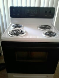 white and black electric coil range oven Tampa, 33615