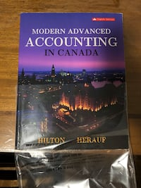 Modern Advance Accounting In Canada text book Toronto, M2K 1B7