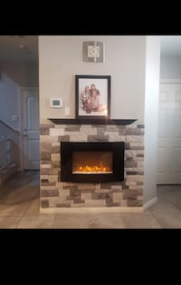 Never opened wall Fire Place???? 274 mi