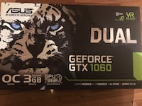 ASUS GTX1060 3G Richmond Hill, L4E 4K3