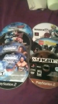 Sony PS2 game discs South Charleston