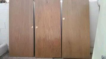 Doors for the bedrooms or bathrooms and closets