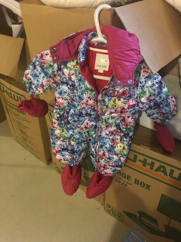 Like new Diesel baby jacket  size 6-9 months  e8fe1195-a82e-42fb-9820-88e1a6038f0b
