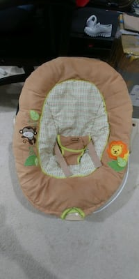 baby's brown and green bouncer Woodbridge, 22191