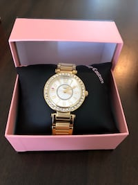 Round silver-colored juicy couture chronograph watch with box Irvine, 92602