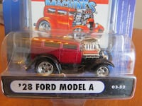 Muscle Machines Diecast '28/'29 Model A's Rarely Offered