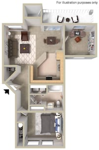 APT For sale 2BR 1BA
