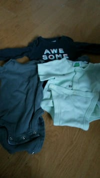 baby's three assorted onesies Ajax, L1T 3M1