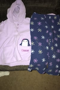 4 sets girls outfits.