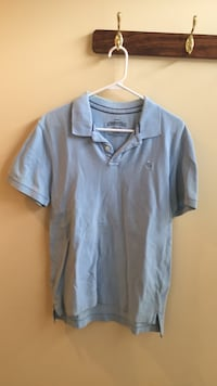 Men's Aeropostale Light Blue Polo (Size M) Chantilly, 20152