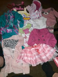 Infant girls 12mos clothes