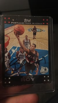 Signed Brandon Roy rookie card West Linn, 97068