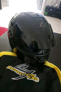 Scorpion helmet (XL)