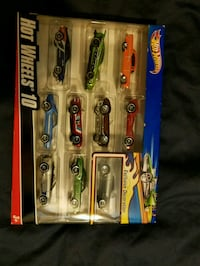 assorted color car scale models