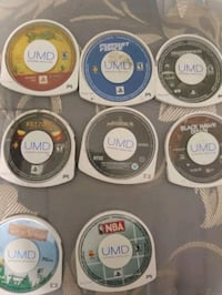 six assorted PS3 game discs Mississauga, L5L