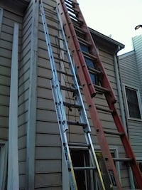 gray and black metal folding ladder Centreville, 20120