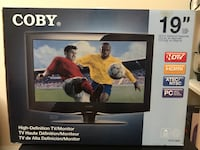 Black and gray flat screen tv box Hyattsville, 20783